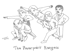 The Powerpoint Rangers